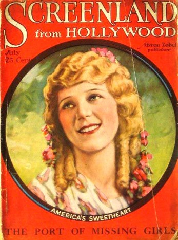 Screenland, Mary Pickford, 1923.