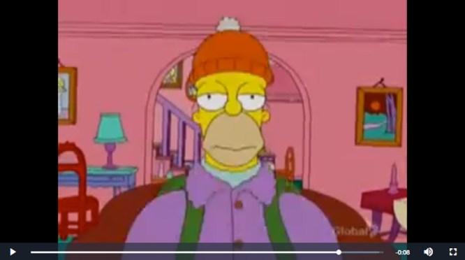 Les Simpsons, 2007.