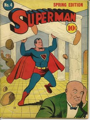 Superman, Joe Shuster, 1940.