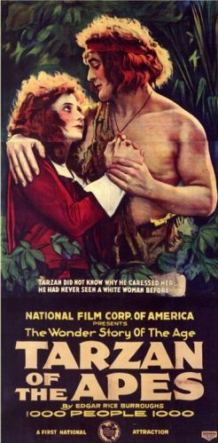 Tarzan of the Apes, 1918.
