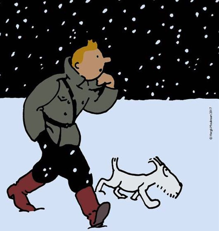 Tintin est-il une œuvre d'art?