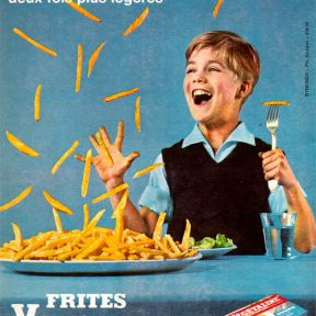 Publicité Végétaline, agence Synergie, 1961.