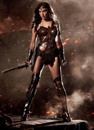 Gal Gadot, Wonder Woman, 2017.