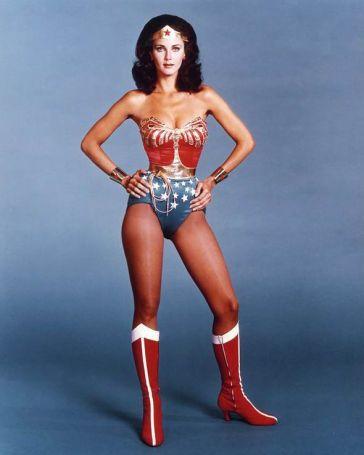 Lynda Carter, Wonder Woman, 1976.