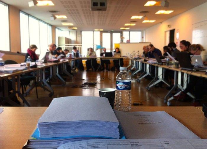 Commission électorale de l'EHESS (MCF), 25/03/2015.