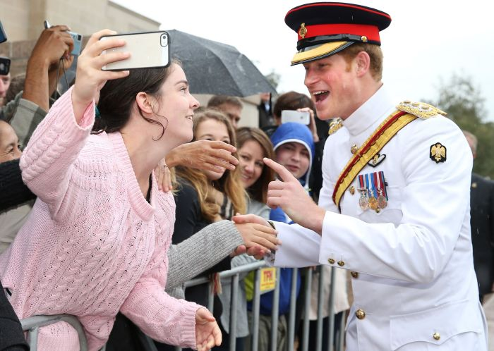 Prince Harry Visit To Canberra, Australia, 06 Apr 2015.