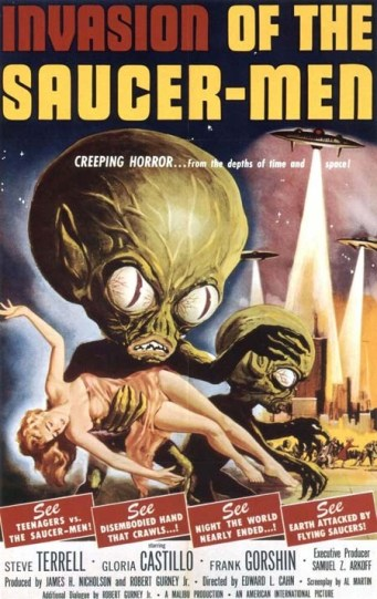 Invasion of the Saucer Men, 1957.