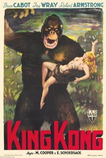 Cooper/Schoedsack, King Kong, 1933.