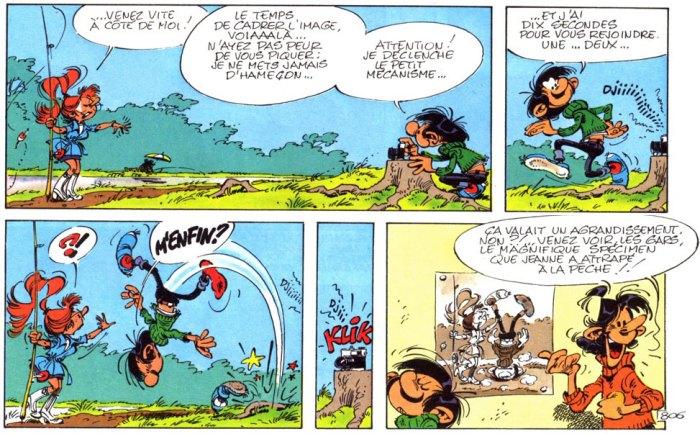 4. André Franquin, Gaston Lagaffe, 1979.