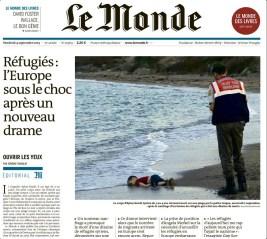 Le Monde, 03/09/2015.
