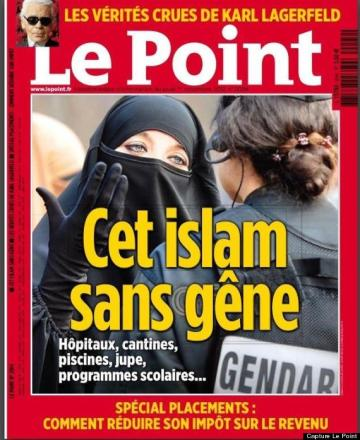 Le Point, couverture du 01/11/2012.