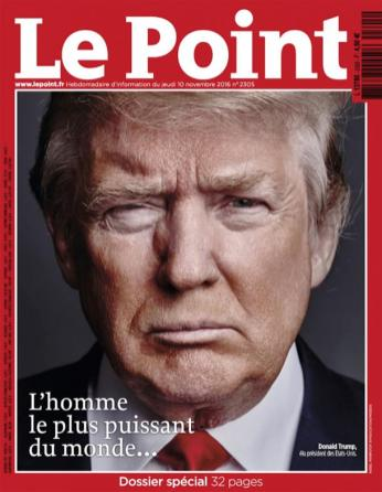 Le Point, 10/11/2016.