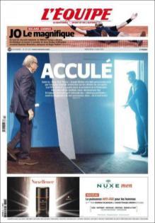 L'Equipe, 3 juin 2015.