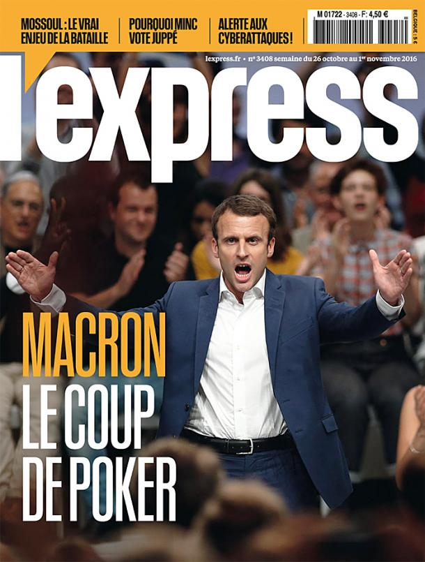 L'Express, 31/03/2016.