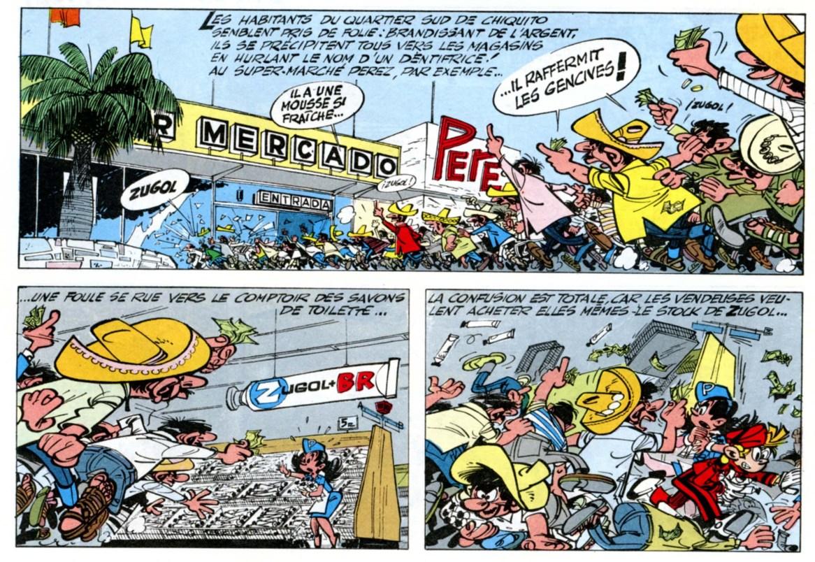 Franquin, L'Ombre du Z, 1962.
