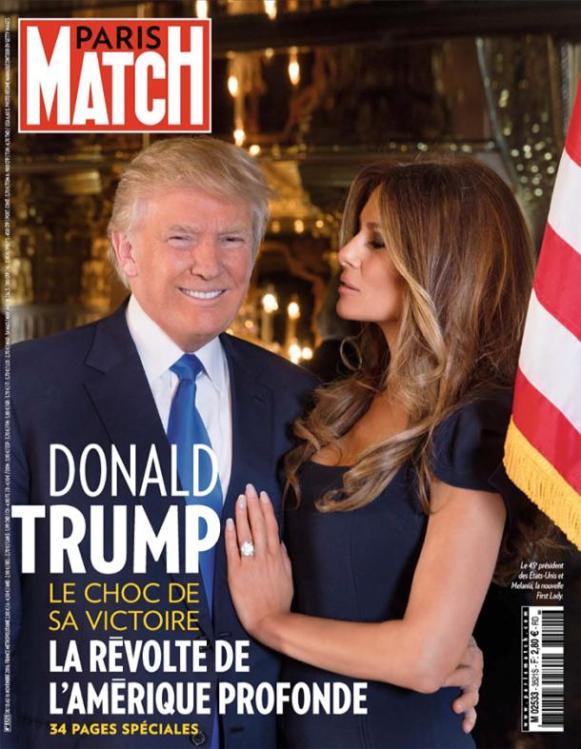 Paris-Match, 10/11/2016.