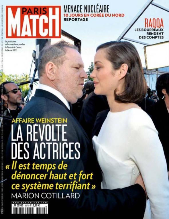 Paris-Match, 19/10/2017.