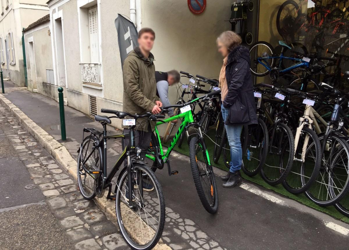 La photo du vélo