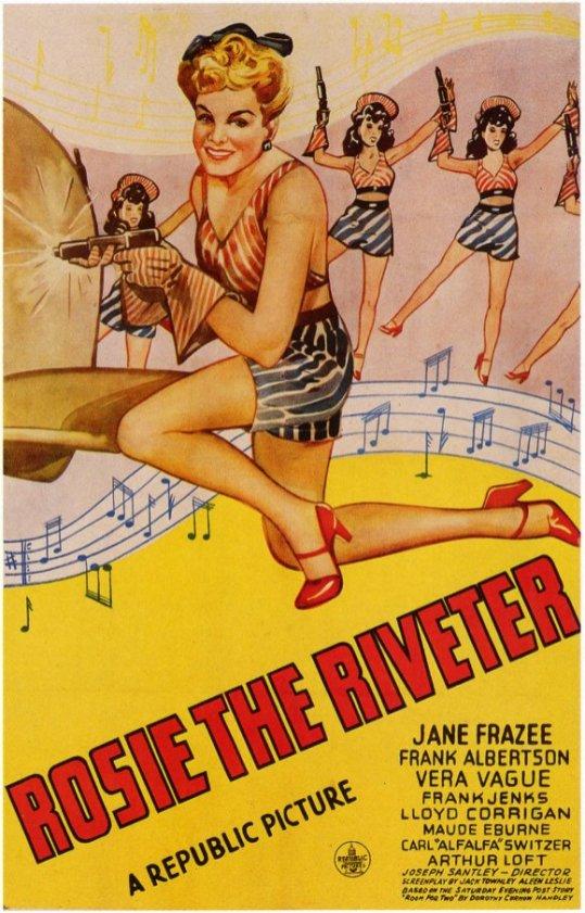 Joseph Stanley, Rosie the Riveter, 1944.
