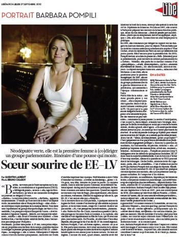 Libération, 27/09/2012.