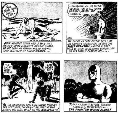 The Fantom, Lee Falk.
