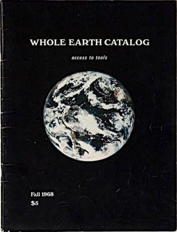 Whole Earth Catalog, 1968.