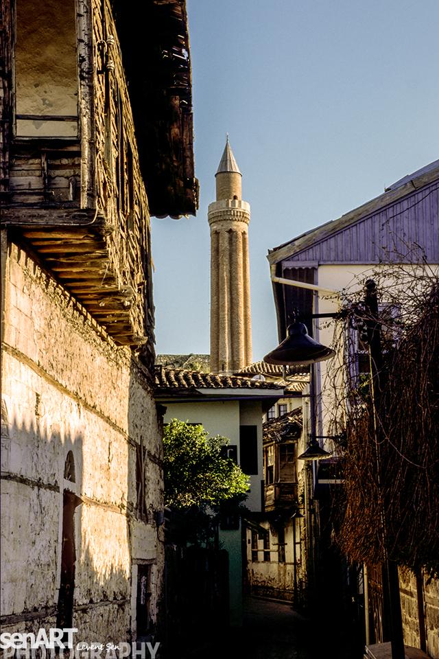 KALEİÇİ & YIVLI MINARE (ALAADIN ) MOSQUE – 2000