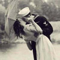 A sailor's kiss, 1950
