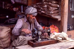 Daily Life in Vale of Kashmir, India, 1982 (17)