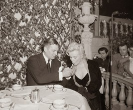 Marilyn Monroe & Laurence Olivier at a Press Conference at the Plaza Hotel, (13)