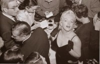 Marilyn Monroe & Laurence Olivier at a Press Conference at the Plaza Hotel, (17)