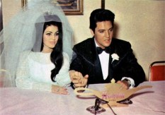 Elvis and Priscilla's Wedding May 1, 1967 (4)