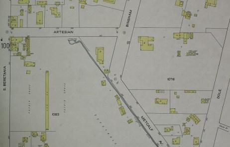 109-Honolulu Sanford Fire Maps-1914-Waikiki-portion-portion