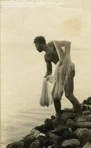 14-3-9-2 =maui fisherman taken at paia beach-ksbe-c1912