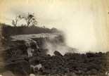 1881 Mauna Loa flow threatening Hilo-Photo by L.B. Mayson-BishopMuseum