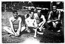 1919 Radiomen-L-R-EL Harris, WG Tichenor, OH Scott, HB 'Skinny' Phelps