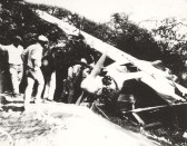 Several field hands from Norman Magurie's Kamalo, Molokai, came up to the wreck of the City of Oakland. July 15, 1927