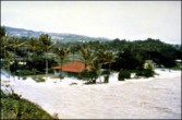 1957 tsunami. 03-09-57 Arrival of a major wave at Laie Point on the Island of Oahu. (National Geophysical Data Center).