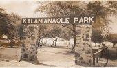 Kalanianaole Park acros Camp ANderws