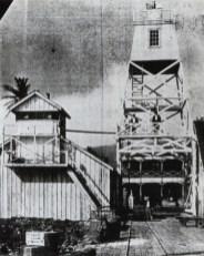 62-Lahaina-Harbor-Light-1866 lighthouse on the left and new 1905 skeleton tower (lighthouseguy-com)