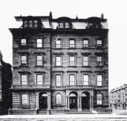 9-10-11 Arlington (ca. 1865), before construction of 8 Arlington; courtesy of Anthony Sammarco