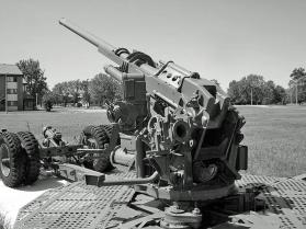 90-mm anti-aircraft gun