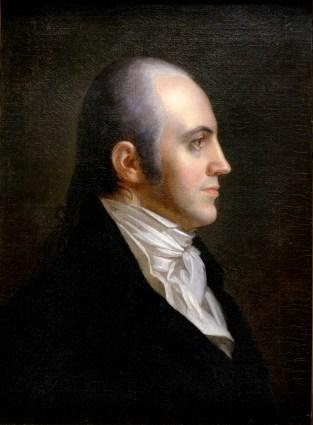 Aaron Burr, 1802