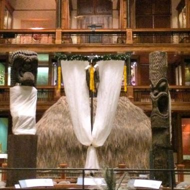 Akua Loa at Bishop Museum