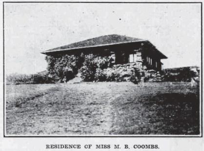 Alewa Heights-Adv-Oct_16,_1910-Miss MB Coombs