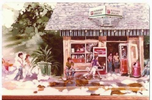 Alexander Grocery-Chink Store-Chuck Weldon