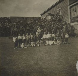Alexander House Settlement-Japanese Kindergarten group-1903