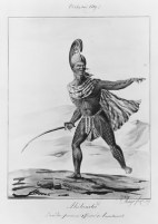 Aniheneho._L'un_des_Premiers_Officiers_de_Tahmahamah-Jacques_Arago,_1819