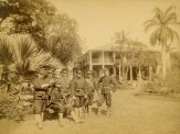 Arlington_Hotel-(formerly_Haleakala)-Officers of the USS Boston at Camp Boston-1893