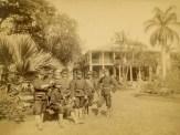 Arlington_Hotel-(formerly_Haleakala)-Officers of the USS Boston at Camp Boston-1893